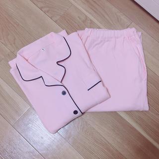 新品未使用 長袖 長ズボン パジャマ ピンク