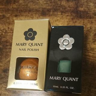 マリークワント(MARY QUANT)の新品マリークワントネイルポリッシュセット(マニキュア)