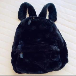 ファーファー(fur fur)のモコモコバックパック・リュック(リュック/バックパック)
