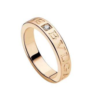 ブルガリ(BVLGARI)のブルガリの1Pダイヤモンドリング(リング(指輪))