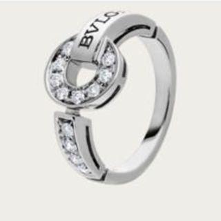 ブルガリ(BVLGARI)のブルガリ 指輪 ブルガリブルガリ ホワイトゴールド ダイヤモンド(リング(指輪))