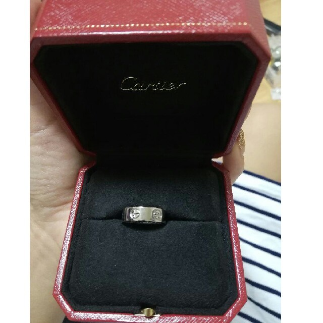 Cartier(カルティエ)のカルティエラブリング レディースのアクセサリー(リング(指輪))の商品写真