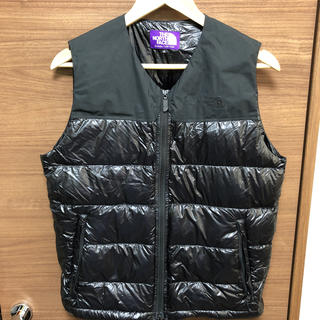 THE NORTH FACE - 美品 THE NORTH FACE PURPLE LABEL ダウンベスト S