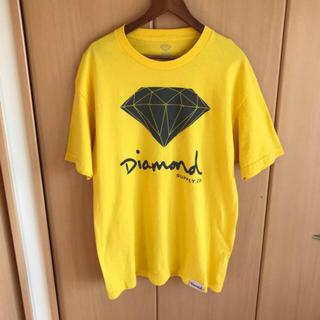 ハフ(HUF)のUSA購入 Diamond supply co. イエロー Tシャツ(Tシャツ/カットソー(半袖/袖なし))