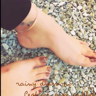 TODAYFUL - leather pipe anklet♡
