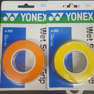 YONEX - グリップテープ 3本巻き 2個セット