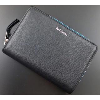 ポールスミス(Paul Smith)のお買い得☆未使用品箱なし ポールスミス 人気ファスナー 折り財布 黒(折り財布)