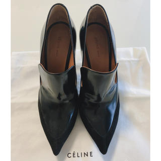 celine - セリーヌ パンプス 黒 35.5