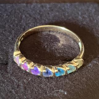 こだわりのリング 18金 イエローゴールド 美品YG アミュレット(リング(指輪))