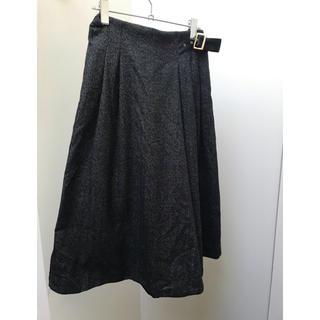 アウィーエフ(AuieF)のスカート見えガウチョ(カジュアルパンツ)