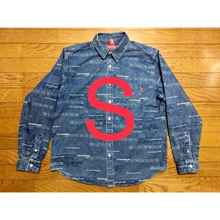 シュプリーム(Supreme)の19AW 新品 ブルーS(シャツ)