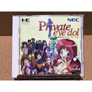 エヌイーシー(NEC)のSCD プライベート・アイ・ドル(家庭用ゲームソフト)