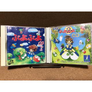 エヌイーシー(NEC)のSCD ぷよぷよCD セット(家庭用ゲームソフト)