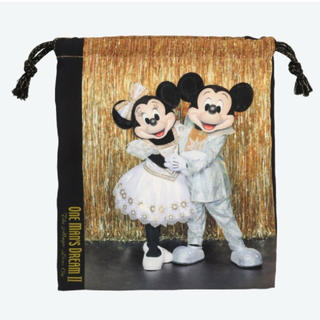 ディズニー(Disney)のワンマンズドリーム 巾着 きんちゃく ミッキーミニー ドナルドデイジー(キャラクターグッズ)