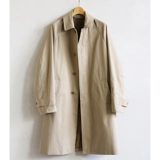 コモリ(COMOLI)のComoli Cotton Gabardine Bal CollarCoat  (ステンカラーコート)
