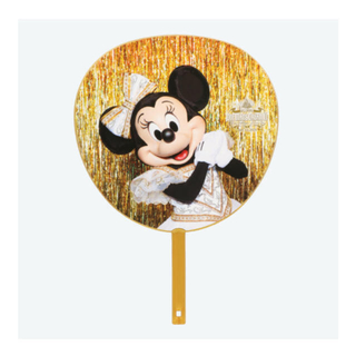 ディズニー(Disney)のワンマンズドリーム うちわセット ミッキーミニー(キャラクターグッズ)