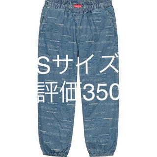 シュプリーム(Supreme)のsupreme Dimensions Logo Denim Skate Pant(ワークパンツ/カーゴパンツ)
