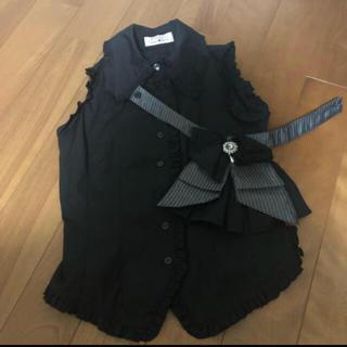 マーブル(marble)のmarble ジャボ付き シャツ(Tシャツ(半袖/袖なし))