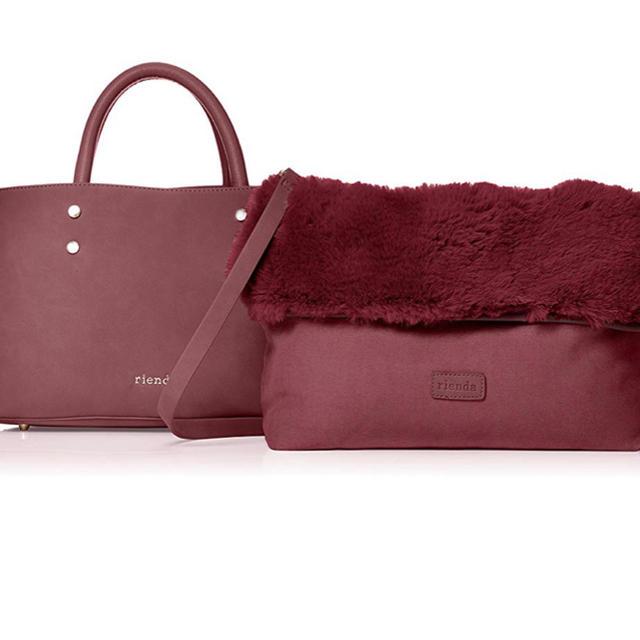 rienda(リエンダ)の新品タグ付き  rienda  ファートートバッグ レディースのバッグ(ハンドバッグ)の商品写真