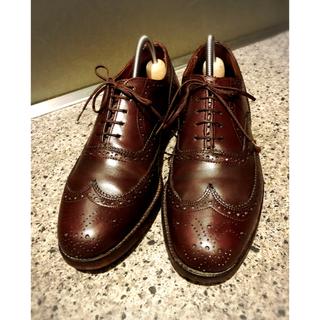 ポロラルフローレン(POLO RALPH LAUREN)のDack's shoes ビジネスシューズ ウィングチップ  レア品 カナダ製(ドレス/ビジネス)