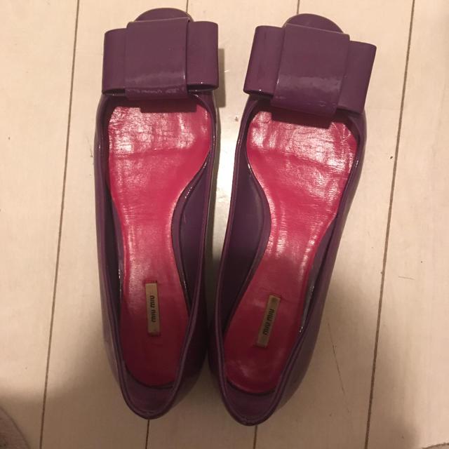 miumiu(ミュウミュウ)のミュウミュウ パンプス レディースの靴/シューズ(ハイヒール/パンプス)の商品写真