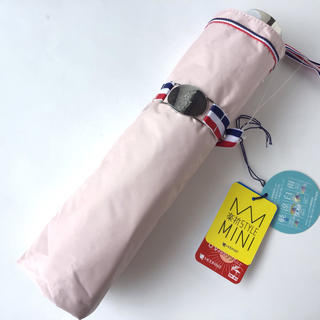 ポロラルフローレン(POLO RALPH LAUREN)の新品★ポロラルフローレン 折りたたみ傘 日傘 ピンク 晴雨兼用(傘)