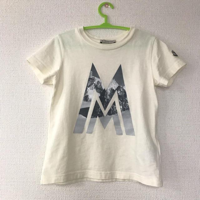 MONCLER(モンクレール)のモンクレールキッズ 4A104 カットソーTシャツ キッズ/ベビー/マタニティのキッズ服 男の子用(90cm~)(Tシャツ/カットソー)の商品写真
