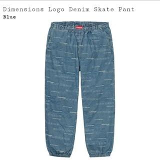 シュプリーム(Supreme)のSuprem Dimensions Logo Denim Skate Pant (その他)