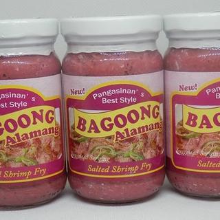 GINISANG BAGOONG Alamang260g3本セット(缶詰/瓶詰)