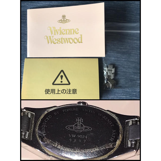 Vivienne Westwood(ヴィヴィアンウエストウッド)のVivienne Westwood 腕時計 ピンク レディースのファッション小物(腕時計)の商品写真