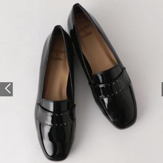 オデットエオディール(Odette e Odile)の美品♡ オデットエオディール アローズ エナメル ローファー 25cm(ローファー/革靴)