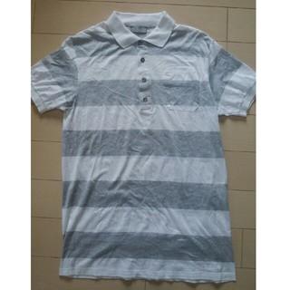 ディオールオム(DIOR HOMME)のDIOR HOMME(ディオールオム) ボーダーポロシャツ 表示サイズ:XS (Tシャツ/カットソー(半袖/袖なし))