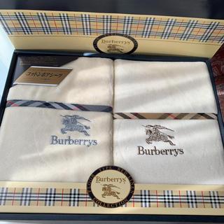 バーバリー(BURBERRY)の青のり様専用です             BURBERRY  ボアシーツ 2枚入(シーツ/カバー)