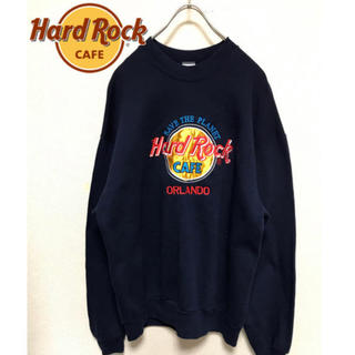ロックハード(ROCK HARD)のHard Rock Cafe ハードロックカフェ トレーナー(スウェット)