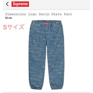 シュプリーム(Supreme)のsupreme/Dimensions Logo Denim Skate Pant(デニム/ジーンズ)