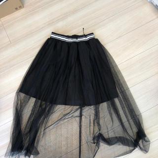 WEGO - レースカバースカート 黒