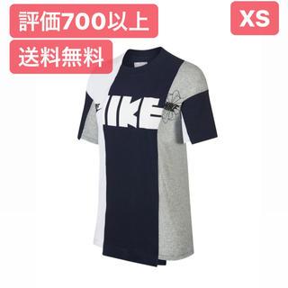 ナイキ(NIKE)のXS【最安値】NIKE × Sacai Hybrid Tシャツ(Tシャツ/カットソー(半袖/袖なし))