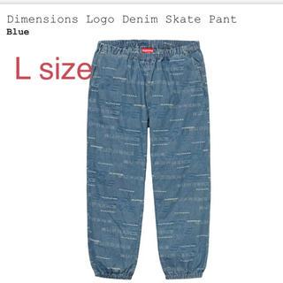 シュプリーム(Supreme)のDimensions Logo Denim Skate Pant supreme(その他)