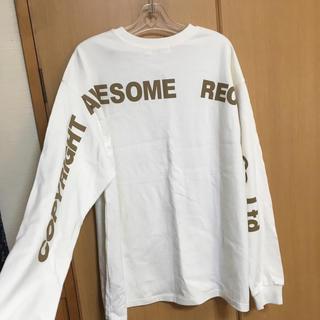 スナイデル(snidel)のスナイデル☆バックプリントロングTシャツ(Tシャツ(長袖/七分))