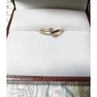 最終価格 クレージュ リング K18   ダイアモンド(リング(指輪))