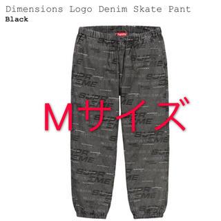 シュプリーム(Supreme)のSupreme Dimensions Logo Denim Skate Pant(デニム/ジーンズ)