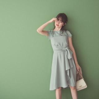 リランドチュール(Rirandture)のリランドチュール 4way ワンピース ドレス お呼ばれ ミントグリーン(ミディアムドレス)
