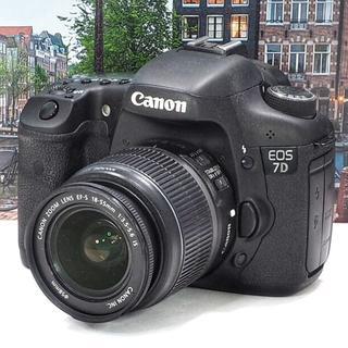キヤノン(Canon)の❤️初心者応援✨❤️高速連写✨❤️手ブレ補正✨❤️キャノンEOS7D(デジタル一眼)