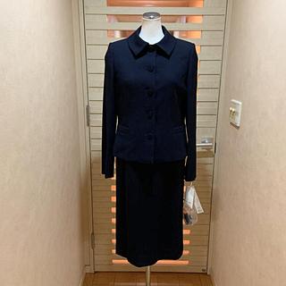 ハナエモリ(HANAE MORI)のハナエモリHAMAE MORI 新品11号11万お受験定番濃紺ワンピーススーツ(スーツ)