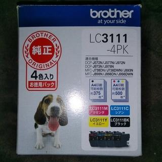 brother - 【新品未開封】ブラザー brother LC-3111-4PK インクセット