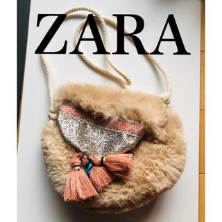 ザラ(ZARA)のZARA フリンジ ポシェット(ポシェット)