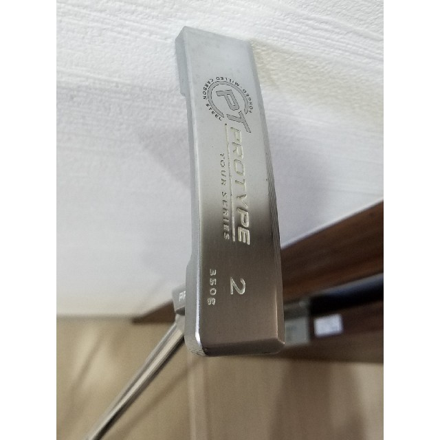 Callaway Golf(キャロウェイゴルフ)の【茜霧島様専用】オデッセイ パター プロタイプ 34 インチ スポーツ/アウトドアのゴルフ(クラブ)の商品写真