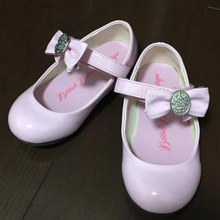 ディズニー(Disney)のみなみ819*さま専用  ビビディバビディブティック 靴 18センチ(フォーマルシューズ)