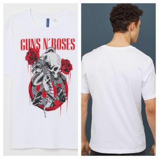 エイチアンドエム(H&M)の【H&M】新作&新品  ☑️ Guns N' Roses Tシャツ Mサイズ(Tシャツ/カットソー(半袖/袖なし))