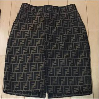 フェンディ(FENDI)のFENDI フェンディ スカート(ひざ丈スカート)